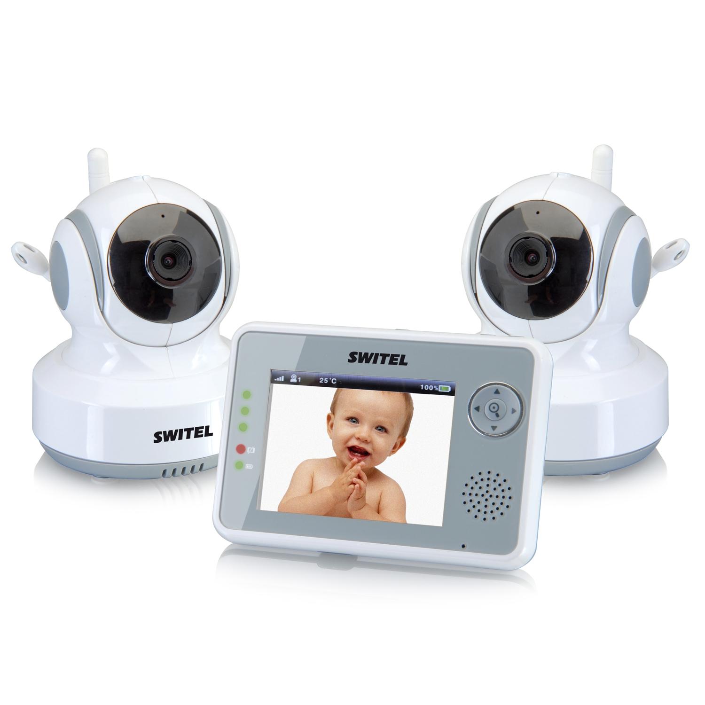 Видеоняня Switel BCF990 Duo (8,89 см, удаленный поворот, 2 камеры)