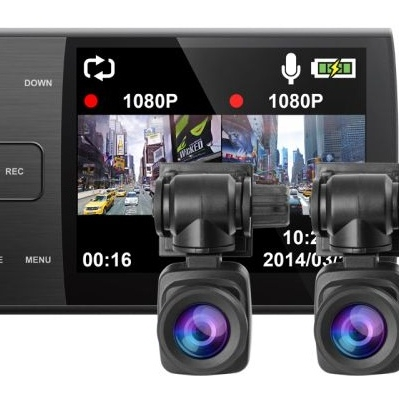 Автомобильный видеорегистратор iconBIT DVR QX DUO